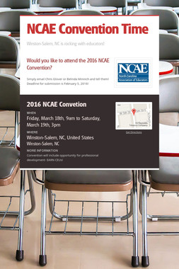 NCAE Convention Time