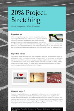 20% Project: Stretching