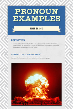 Pronoun Examples