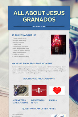 All About Jesus Granados