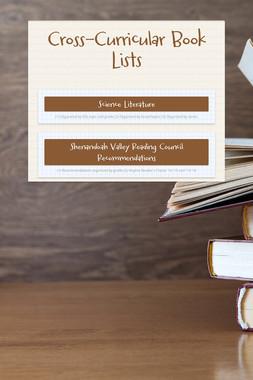 Cross-Curricular Book Lists