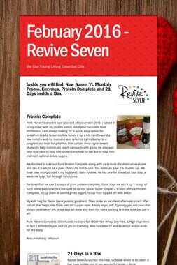 February 2016 - Revive Seven