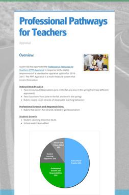 Professional Pathways for Teachers