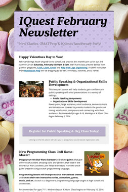 IQuest February Newsletter