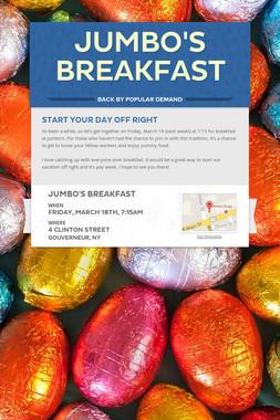 Jumbo's Breakfast