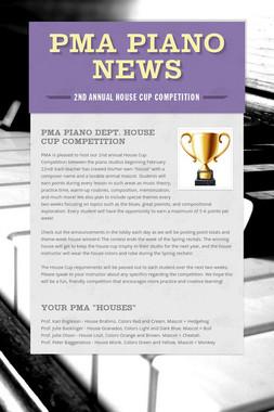 PMA Piano News