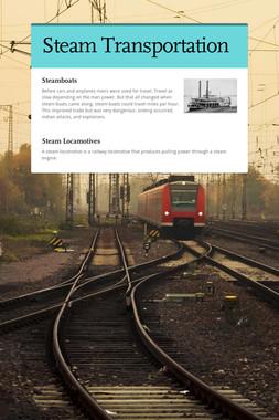 Steam Transportation