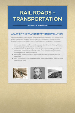 Rail Roads - Transportation