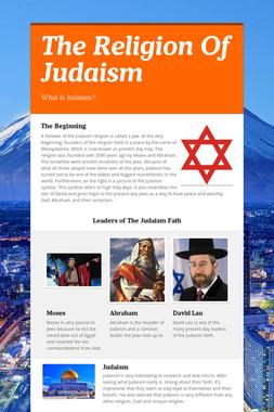 The Religion Of Judaism