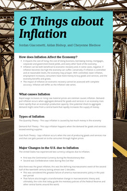 6 Things about Inflation