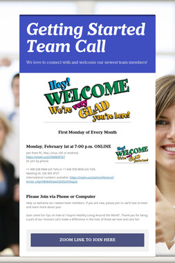 Getting Started Team Call