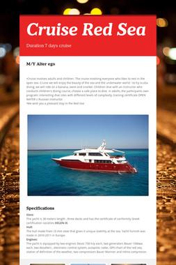Cruise Red Sea