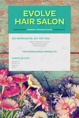evolve hair salon