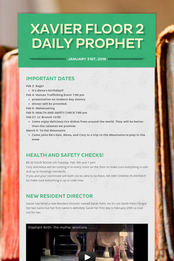 Xavier Floor 2 Daily Prophet