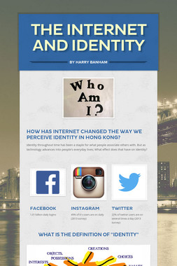 THE INTERNET AND IDENTITY