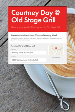Courtney Day @ Old Stage Grill