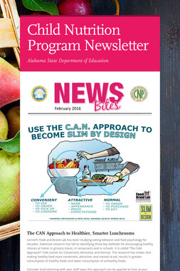 Child Nutrition Program Newsletter
