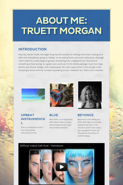 About Me: Truett Morgan