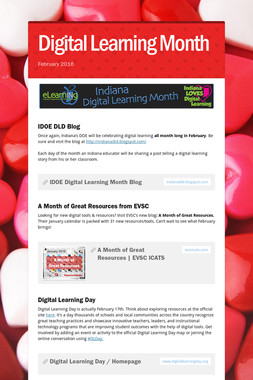 Digital Learning Month