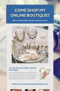 Come Shop My Online Boutique!!