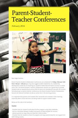 Parent-Student-Teacher Conferences