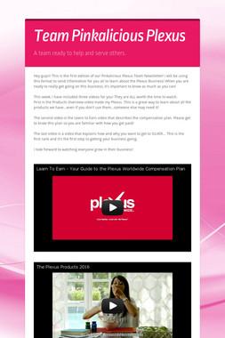 Team Pinkalicious Plexus