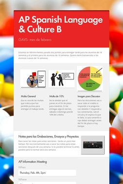 AP Spanish Language & Culture B