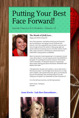 Putting Your Best Face Forward!