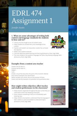 EDRL 474 Assignment 1