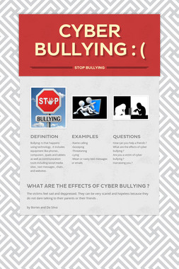 Cyber bullying : (