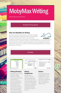 MobyMax Writing
