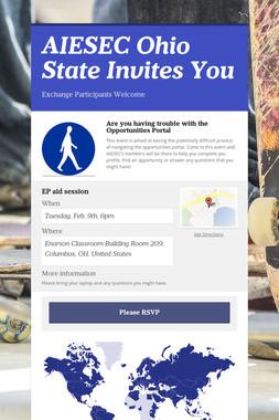 AIESEC Ohio State Invites You
