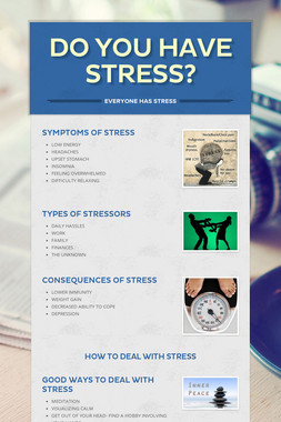 DO YOU HAVE STRESS?