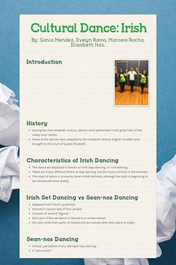 Cultural Dance: Irish