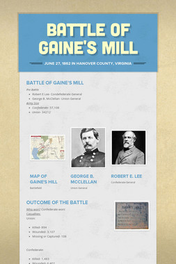 Battle of Gaine's Mill