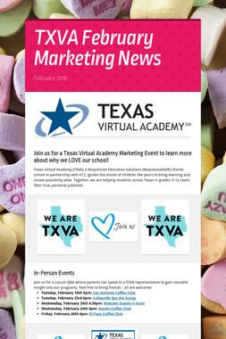 TXVA February Marketing News