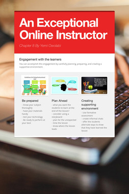 An Exceptional Online Instructor