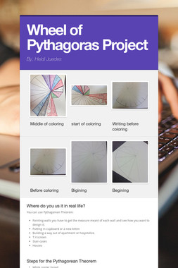 Wheel of Pythagoras Project