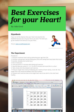 Best Exercises for your Heart!