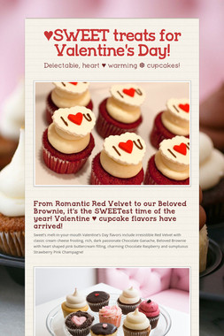 ♥SWEET treats for Valentine's Day!