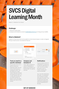 SVCS Digital Learning Month
