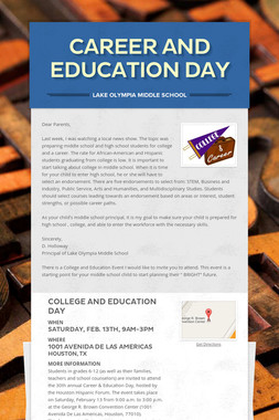 Career and Education Day