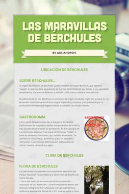 Las Maravillas De Bérchules