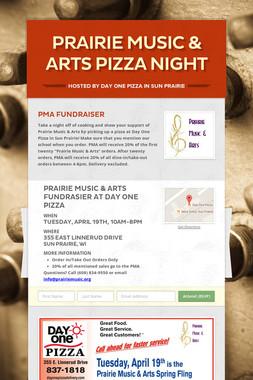 Prairie Music & Arts Pizza Night