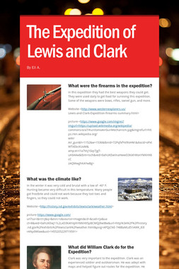 The Expedition of Lewis and Clark