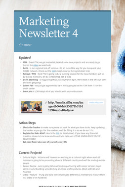 Marketing Newsletter 4