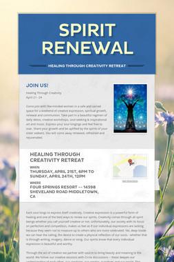 Spirit Renewal