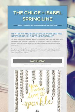 The Chloe + Isabel Spring Line