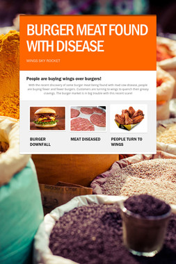 BURGER MEAT FOUND WITH DISEASE
