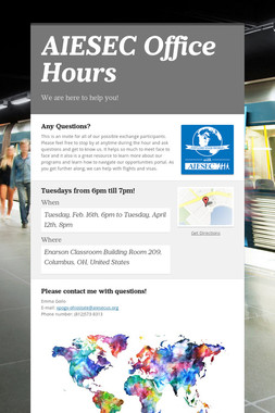 AIESEC Office Hours